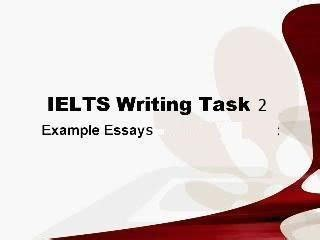 Environment writing essay ielts